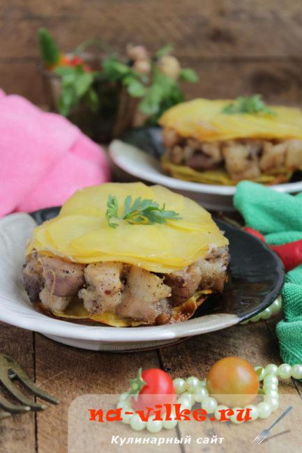Картофель Анна с мясом