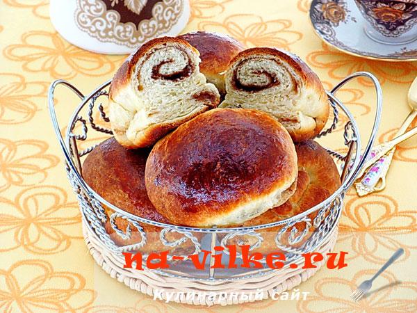 Пирожки с корицей печёные