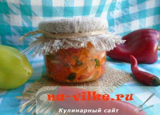 Натуральная овощная заправка для первых и вторых блюд на зиму