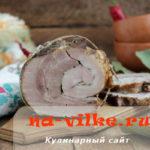 Коптим свиную брюшину самостоятельно по вкусному рецепту