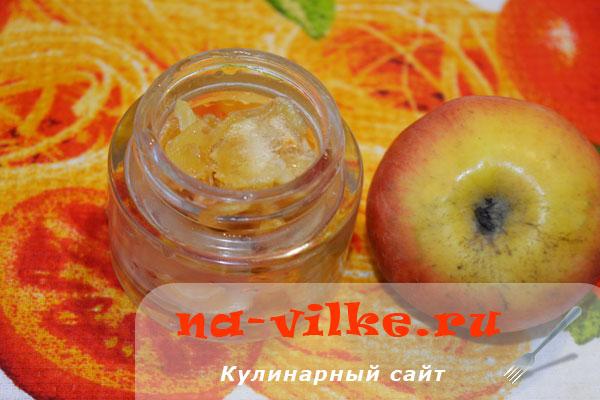 Варенье из яблок в духовке