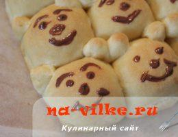 Вкусные мягкие тыквенные булочки