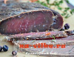 Вяление мясных и рыбных продуктов в домашних условиях и на производстве