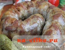 Свиная колбаса в кишках – домашний рецепт вкусного лакомства