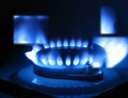 Пламя газовой конфорки