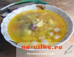 Готовим аппетитный гороховый суп с копченостями и салом