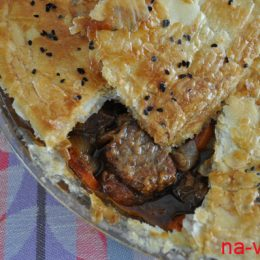 Gosser Pie или мясо в тёмном пиве