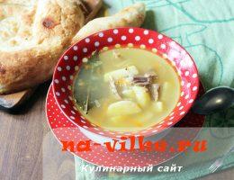 Суп с гречневой крупой в мультиварке
