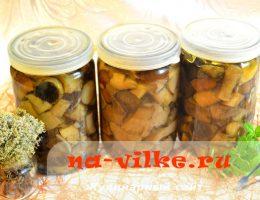 Как мариновать лесные грибы на зиму