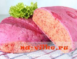 Хлеб в духовке со свеклой
