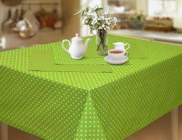Как правильно выбрать скатерть для стола на кухне