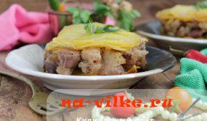 Миниатюра к статье Картофель Анна с мясом
