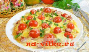 Миниатюра к статье Картофельная пицца на сковороде