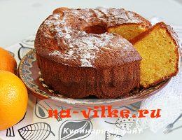 Готовим апельсиновый кекс вкусно и просто