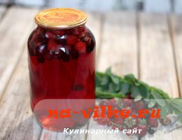 Вкусный и полезный компот из смородины, малины и клубники