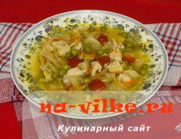 Крестьянский суп в мультиварке Panasonic