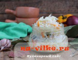 Готовим быстро квашеную капусту в аппетитном рассоле