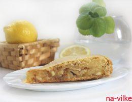 Лимонный пирог - кусок