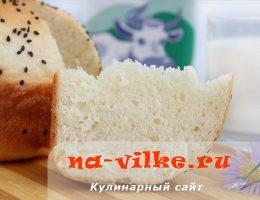 Молочный хлеб в духовке