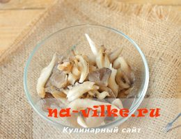 Как заморозить свежие грибы вешенки