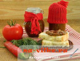 Острый томатный соус