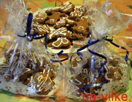 Имбирное печенье подарочное
