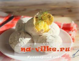 Картофель, запеченный в мундире и шубке из соли
