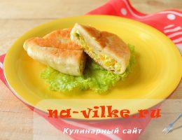 Готовим пирожки с начинкой из овощей и яиц