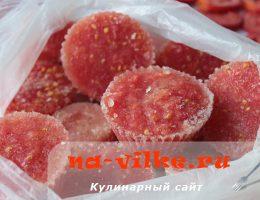 Мороженные помидоры на зиму