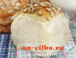Сдобные пшенично-ржаные булочки в домашних условиях