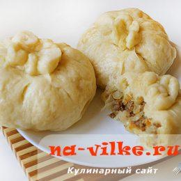 Пянсе - пирожки на пару по-корейски