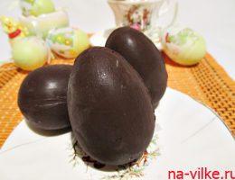 Шоколадное яйцо с сюрпризом