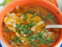 Суп Чехословацкий - рецепт приготовления