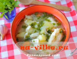 Готовим вкусный суп с галушками и курицей в мультиварке