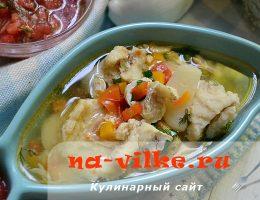 Как приготовить рыбный суп с добавлением овощей