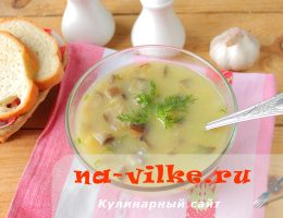 Вкусный грибной суп в мультиварке из картошки, вешенок и овсянки