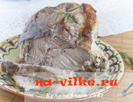Свинина в молоке запеченная в духовке – рецепт