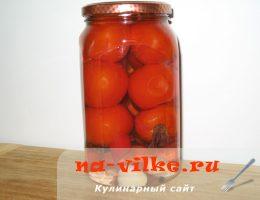 Консервируем помидоры на зиму с базиликом и специями