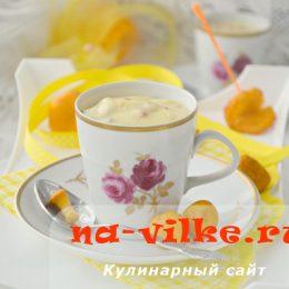 Суп вишисуаз с жареными лисичками — рецепт приготовления с фото