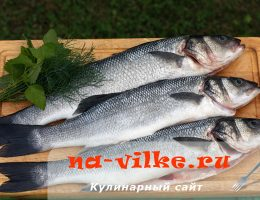 Время запекания рыбы