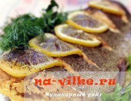 Нежная красная рыба, запеченная в фольге