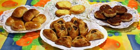 Различные пирожки