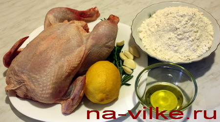 Курица и специи