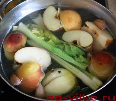 Рулька по-деревенски – кулинарный рецепт