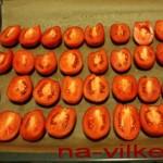 Вялим помидоры сливка