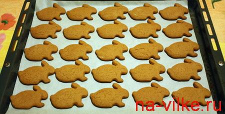 Печенье Имбирные зайцы