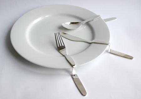 Столовые приборы по форме посуды