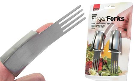 Вилка на палец