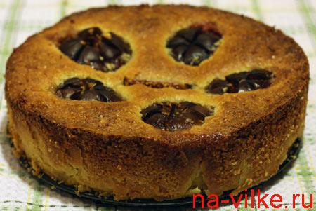 Сладкий инжирный пирог