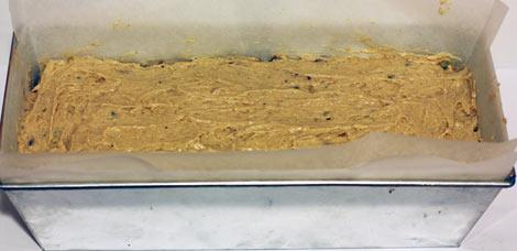 кекс в форме для выпечки